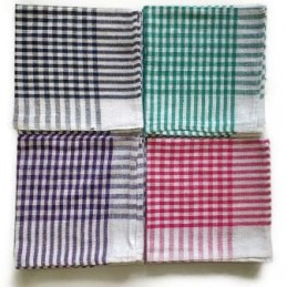Check Cloth (Pack of 12)...