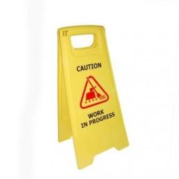 Work in progress-Caution Board